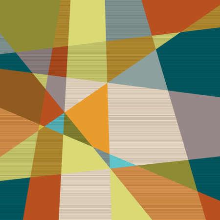 Textured retro geometric background  Vector eps10 Stock Vector - 15931456
