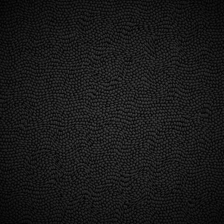 Black leather texture. Vector background Stock Vector - 16238039