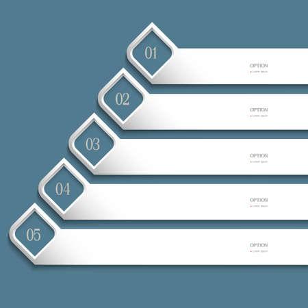 Creative white Design template . Vector website layout