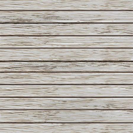 pannello legno: Grigio vecchia struttura in legno. Illustrazione vettoriale