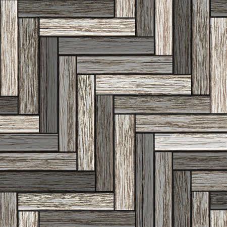 Background of wooden grey parquet. Stock Vector - 16470078