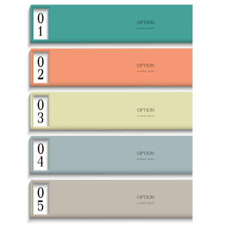 Modern Design template in pastel colors. Vector website layout Stock Vector - 16470060