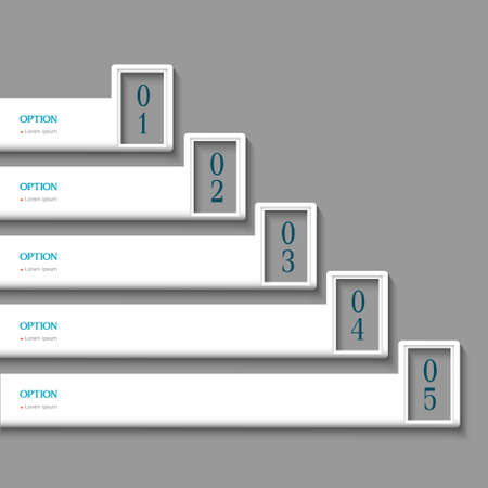 White Design template  Vector website layout Stock Vector - 16470055