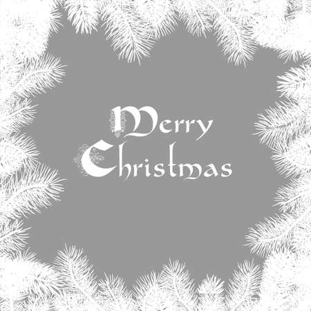 Elegant Christmas card  Illustration Stock Vector - 16852863