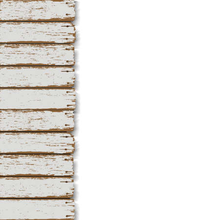 background with old wooden fence Stock Vector - 16852972