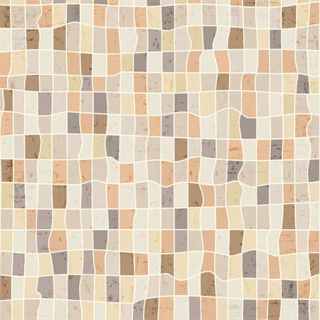 Grunge abstract mosaic background. Vector eps10