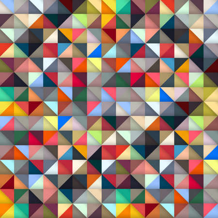 Colorful geometric background.