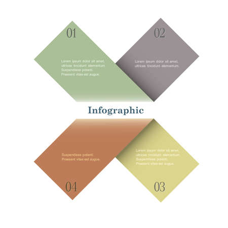 Trendy Design template for infographics, graphic business design and website templates. Stock Vector - 17911738