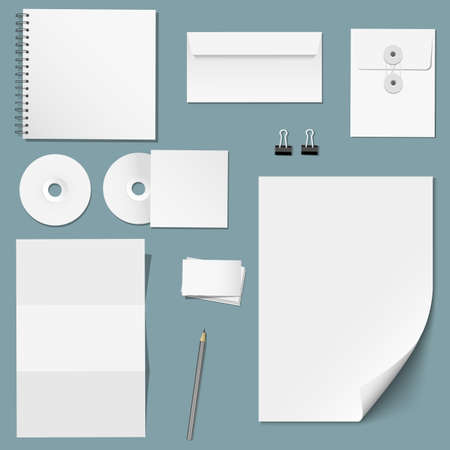 set of design corporate templates Stock Vector - 17911725