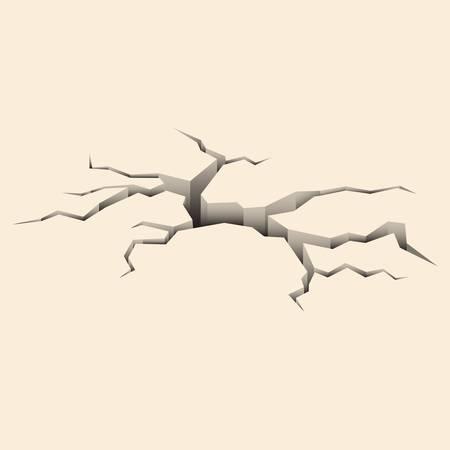 erdboden: Cracked Boden