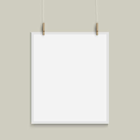 template of paper sheet Stock Vector - 18385318