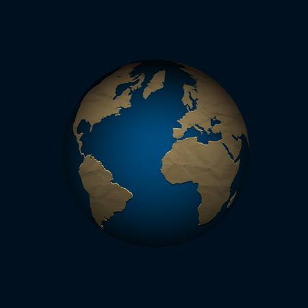 Globe. illustration Stock Vector - 18726796