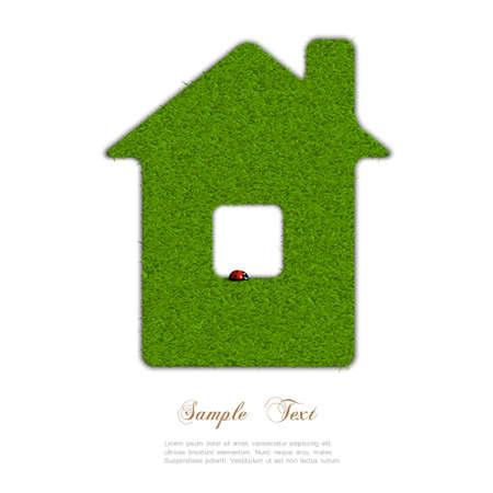 Green home. Concept-eco  Stock Vector - 18726803