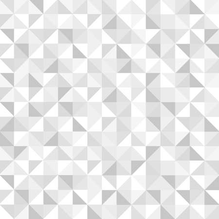 Seamless white geometric pattern   Vector