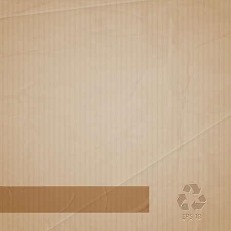 background of cardboard Ilustração
