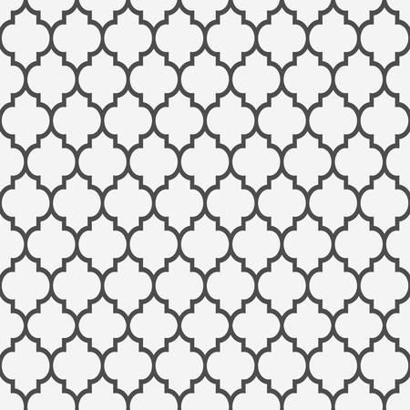 arabisch patroon: Naadloos patroon in islamitische stijl achtergrond Stock Illustratie