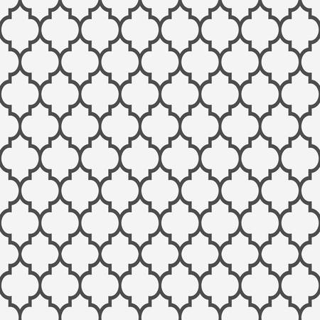 monochromatic: Seamless pattern in islamic style background Illustration
