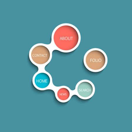 Website Template  Minimalist style design