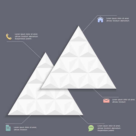 inforgraphic: 3D creative design template for inforgraphics.