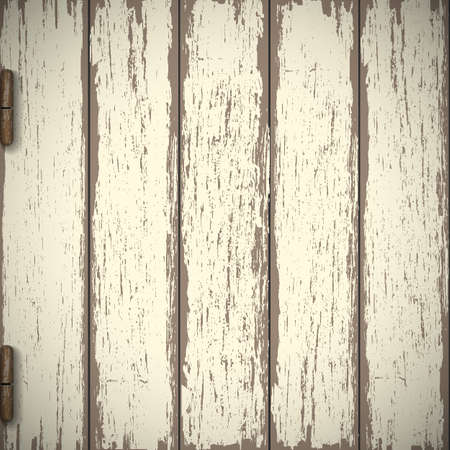 Old wooden textured background.  Vector