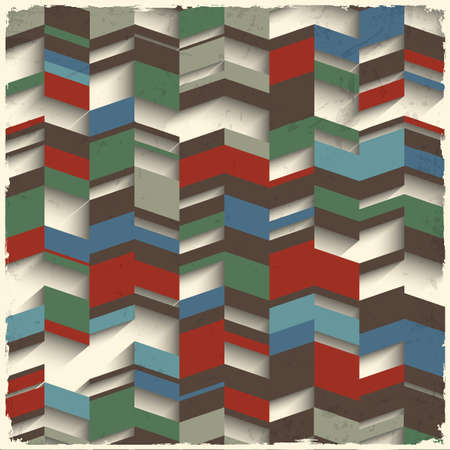 minimalista: Retro absztrakt geometriai, grunge, háttér