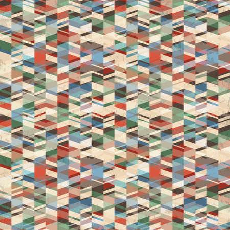 modernism:  retro grunge geometric background