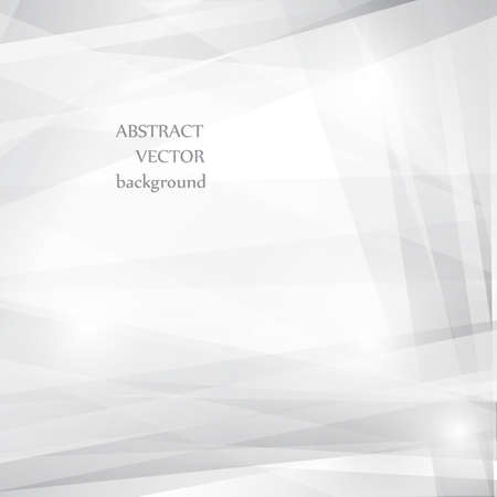 Grey abstract background for design. Vector  Vector