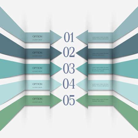 Infographics design. Vector