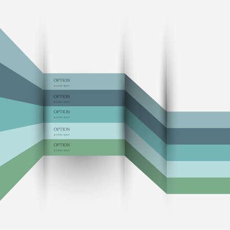 Infographics design - variation 4. Vector