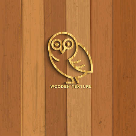 шпон: Деревянный сова