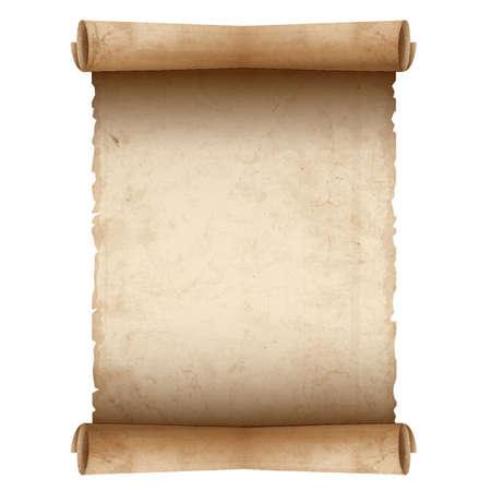 古いスクロール紙  イラスト・ベクター素材
