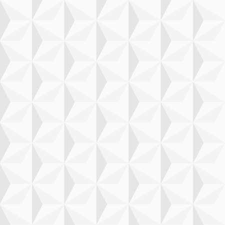3 d の幾何学的な背景を白