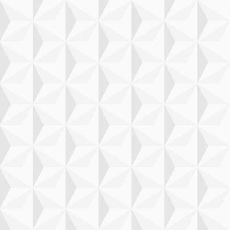 3d white geometric background   Vector