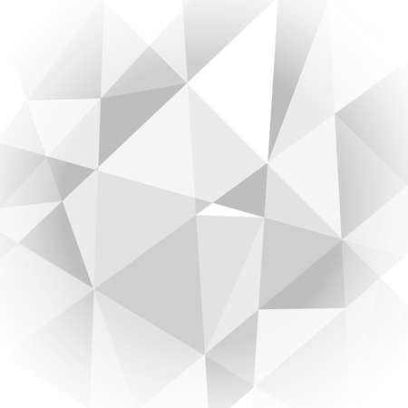 Abstract light grey geometric background