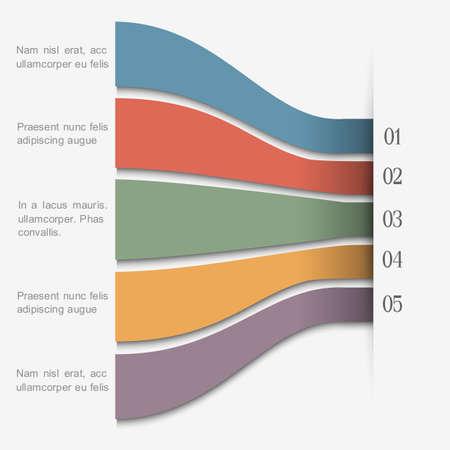Minimal infographics design Stock Vector - 21132053