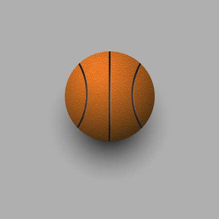 ballon basketball: Basket-ball vecteur stylis�