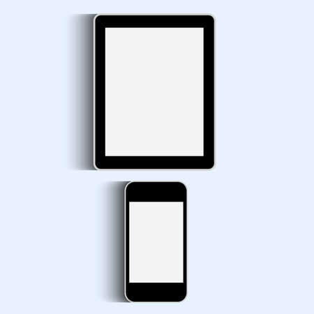 Smartphone and Tablet  Vector set Vector