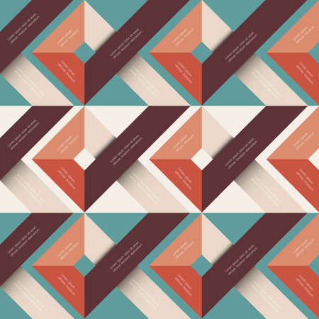 trendy shape: Abstract background with geometric shapes.