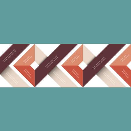 minimalista: Absztrakt geometrikus vektor. Minimalista stílusban Illusztráció