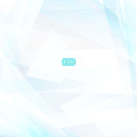 Abstract geometric light blue background.  Vector