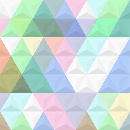 tetraedro: 3d colorato da piramidi. Vettoriali