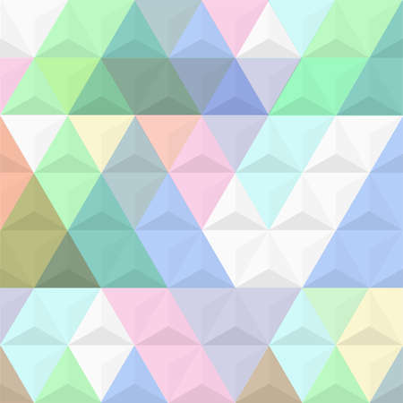 endless repeat structure: 3d colored background from pyramids.