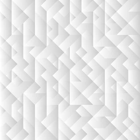 3d grey geometric background. Vector