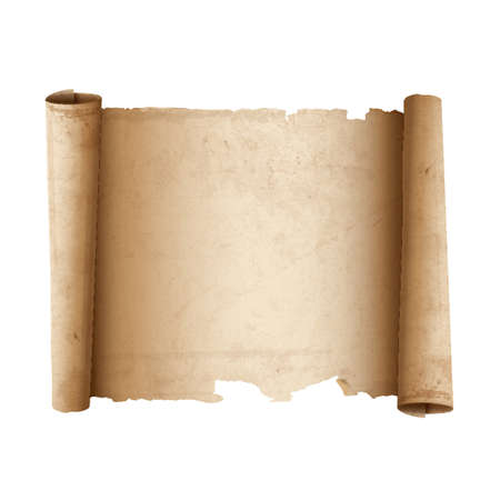 Ancient Scroll paper.  Vector