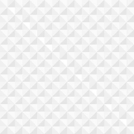 White geometric seamless background  Vector EPS10
