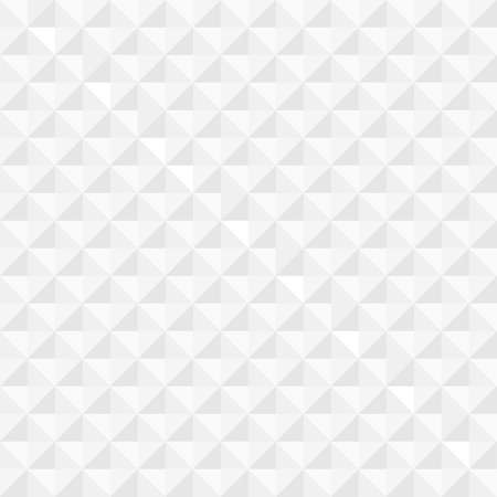White geometric seamless background  Vector EPS10