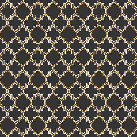 아랍어 원활한 패턴입니다. 벡터 EPS10 일러스트