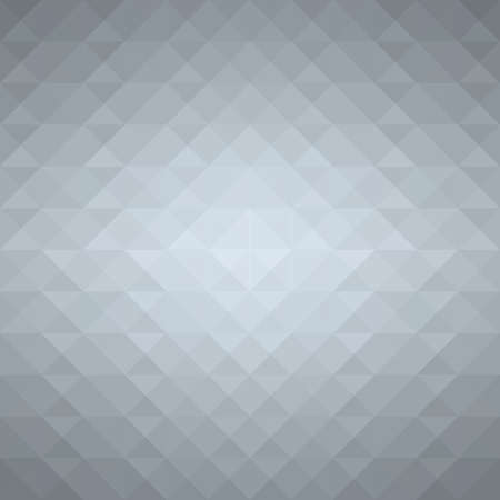 Grey geometric background. Vector EPS10 Ilustração
