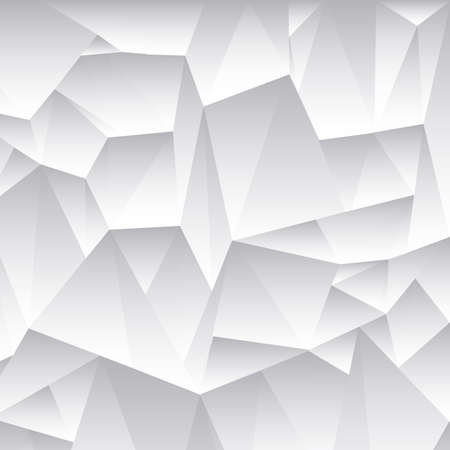 scrunch: Abstract 3d grey vector background Illustration