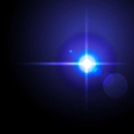 prophecy: Light star. Vector illustration